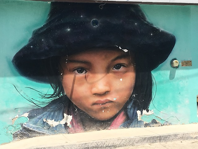 Mural en Holbox