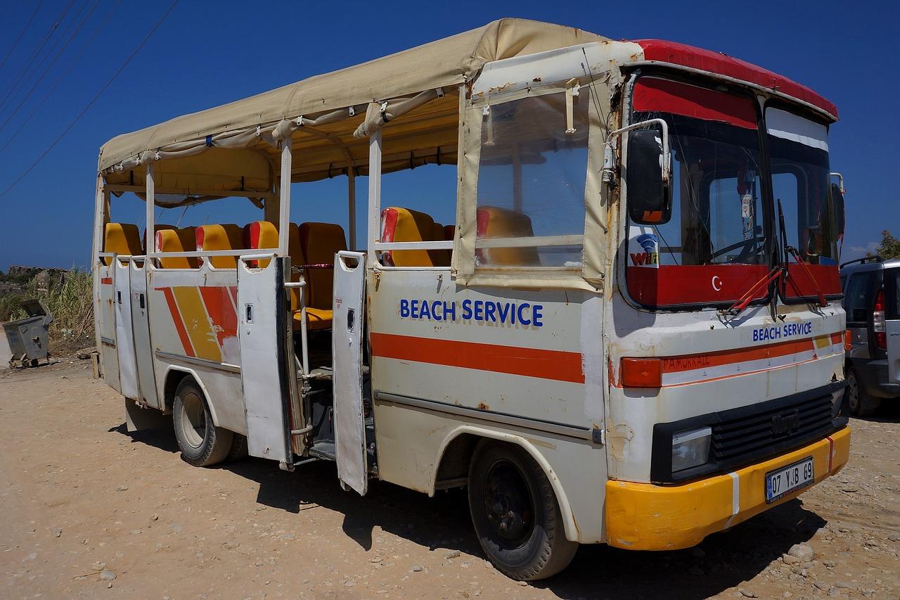 autobús - esto no es viajar a dedo