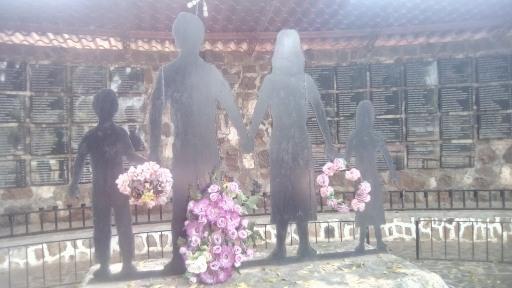 Homenaje a las víctimas del Mozote