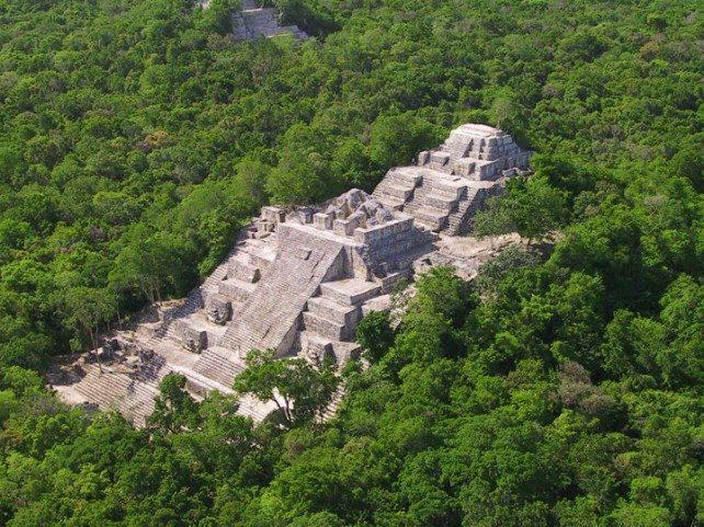 Reserva de la biosfera de Calakmul - turismo verde