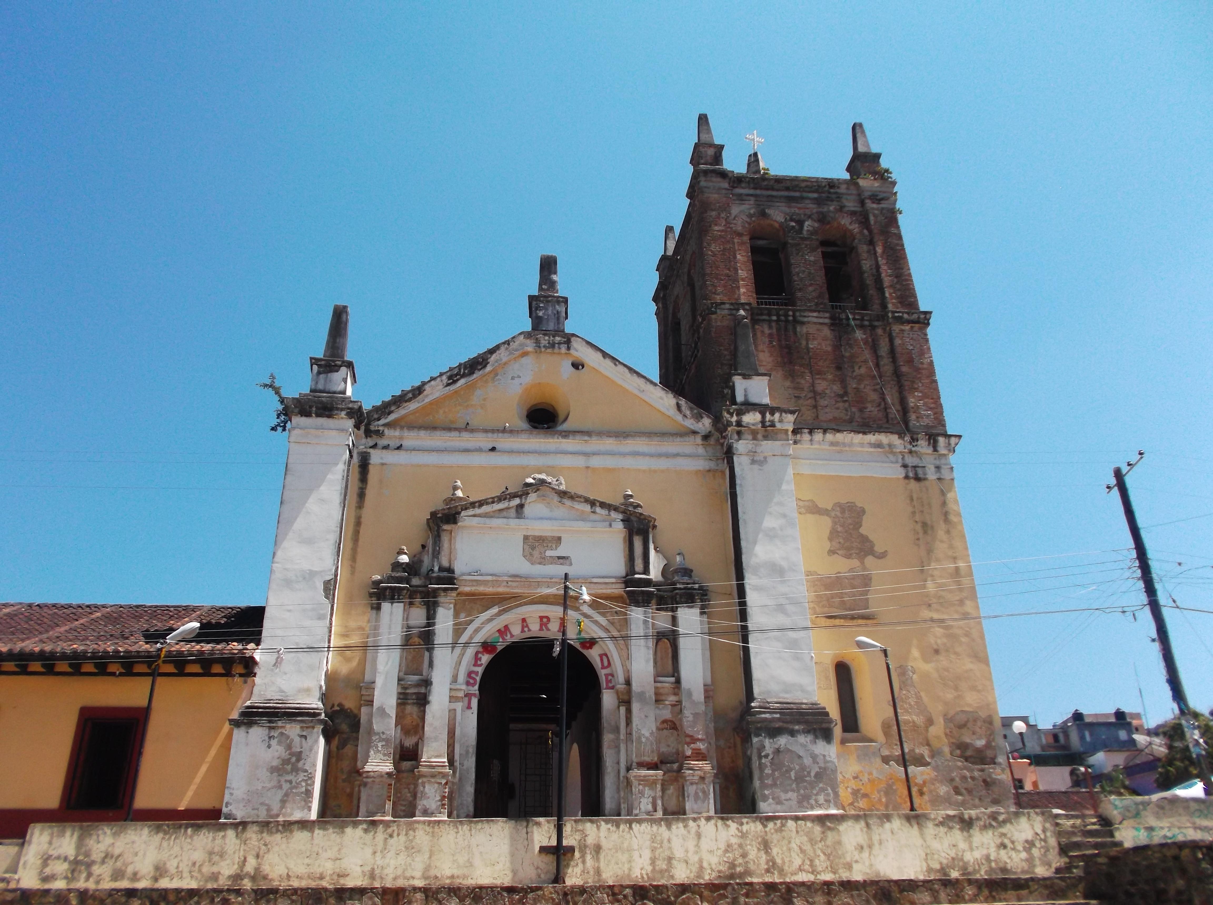 Iglesia de Copainalá - paisajes de chiapas
