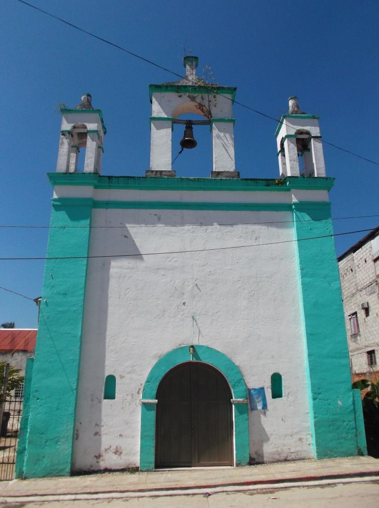 Iglesia en Tecpatán - paisajes de chiapas