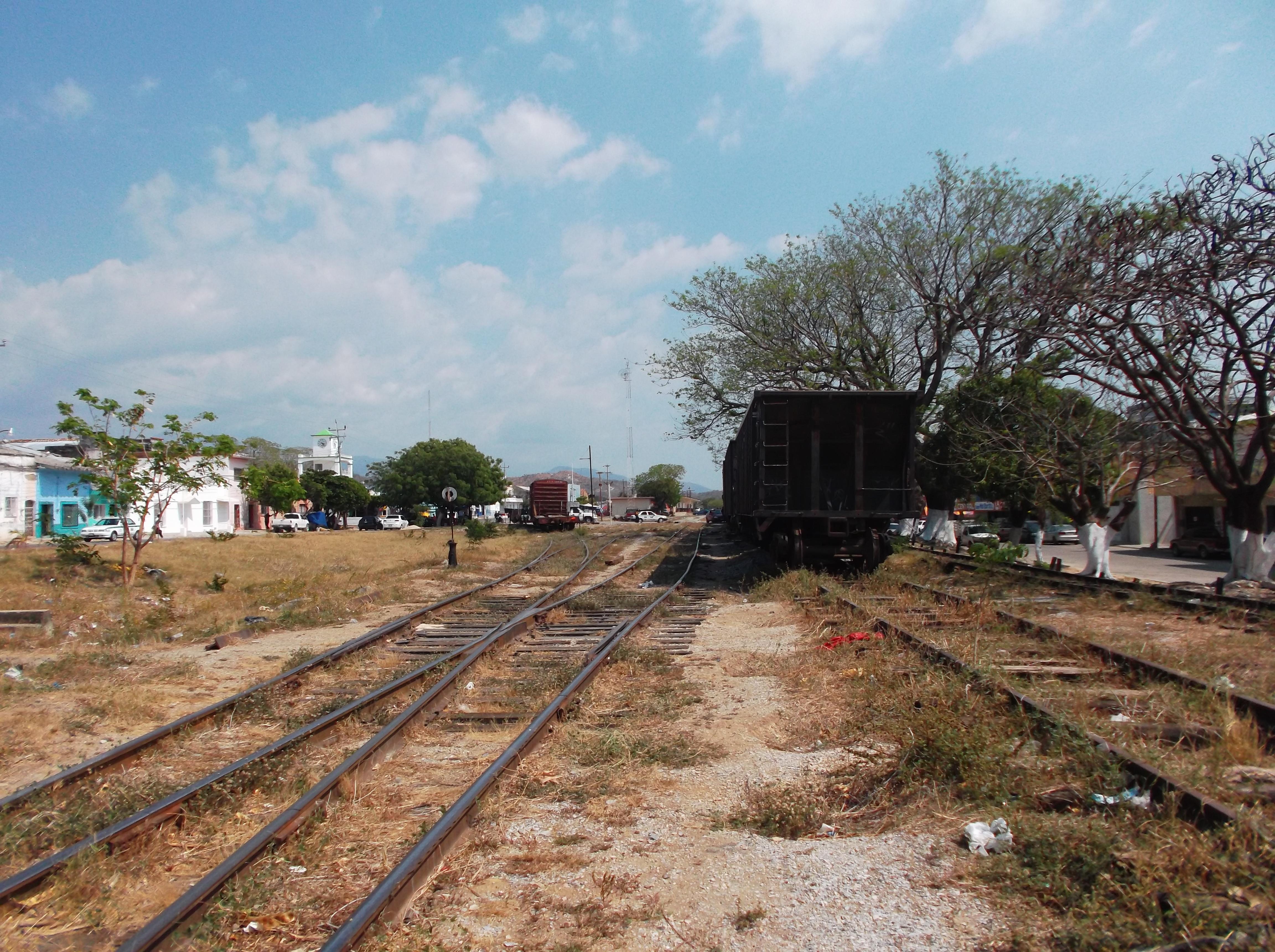 Las vías del tren - la bestia