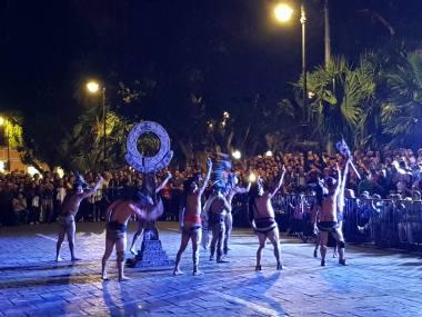 Espectáculo de juego de pelota en Mérida