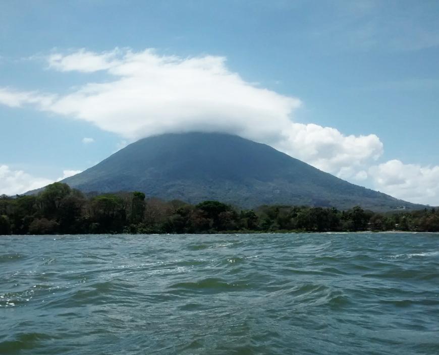 volcán en ometepe