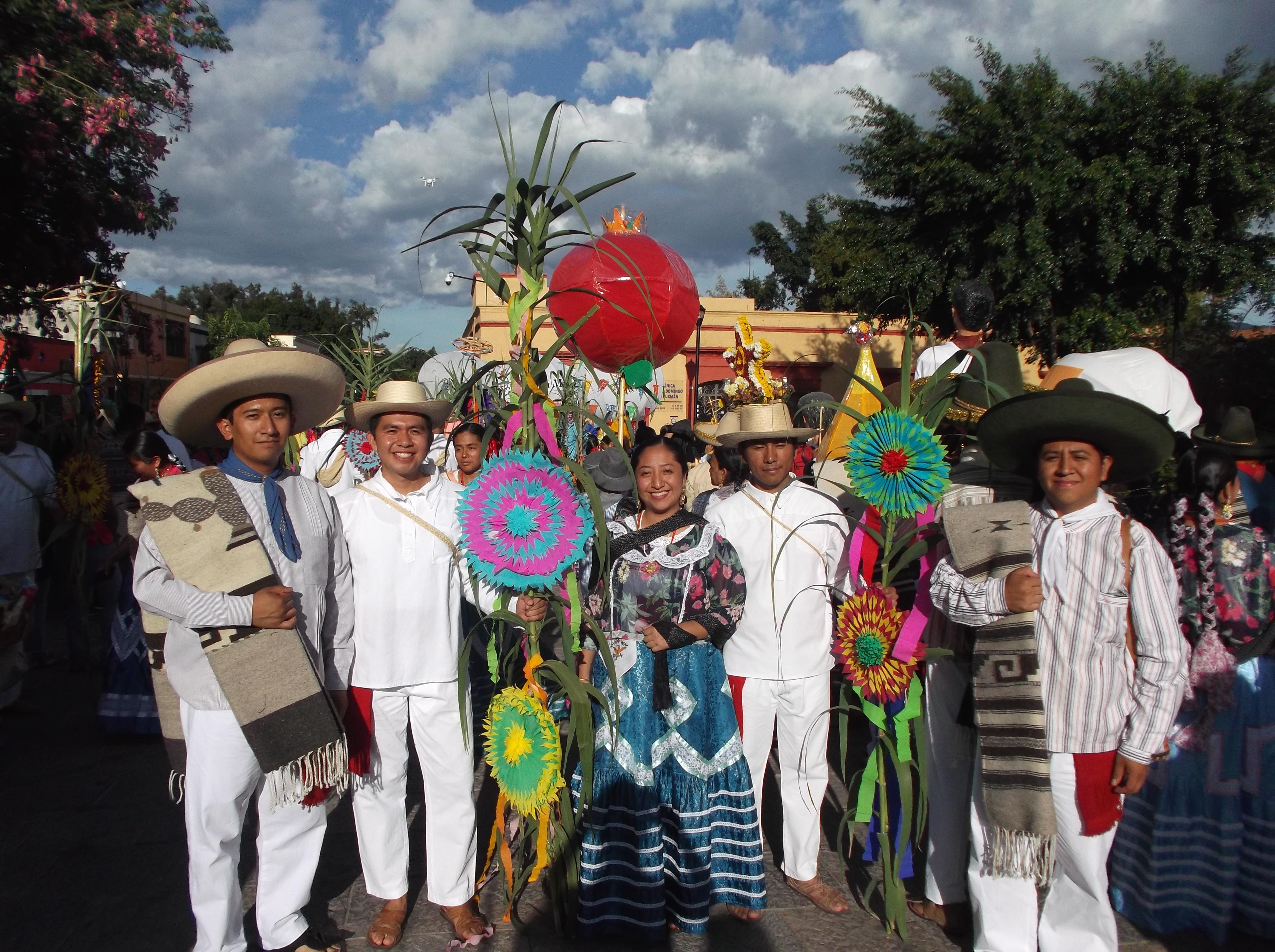 Foto del segundo convite de la Guelaguetza 2019