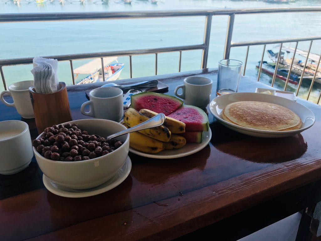 desayuno en palawan