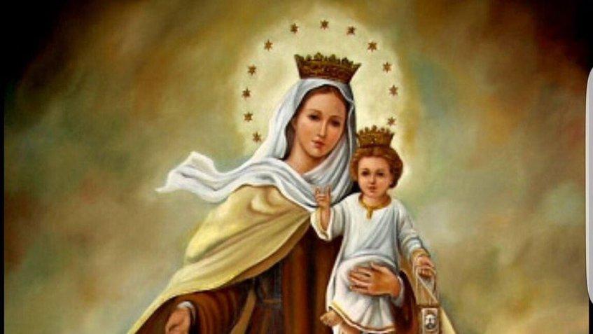 Virgen del Carmen - y con esto se modificó la guelaguetza
