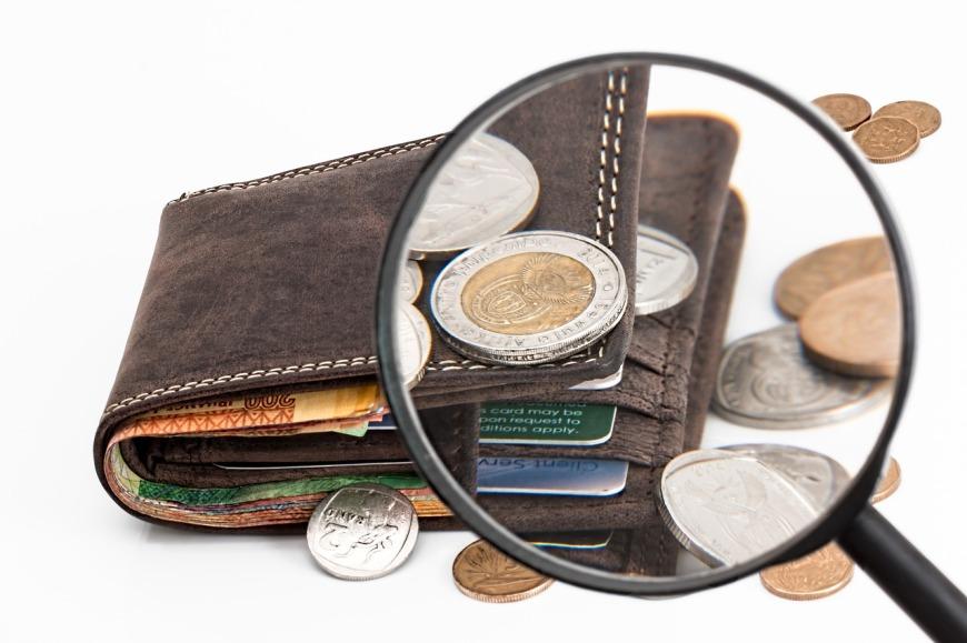 cartera y dinero
