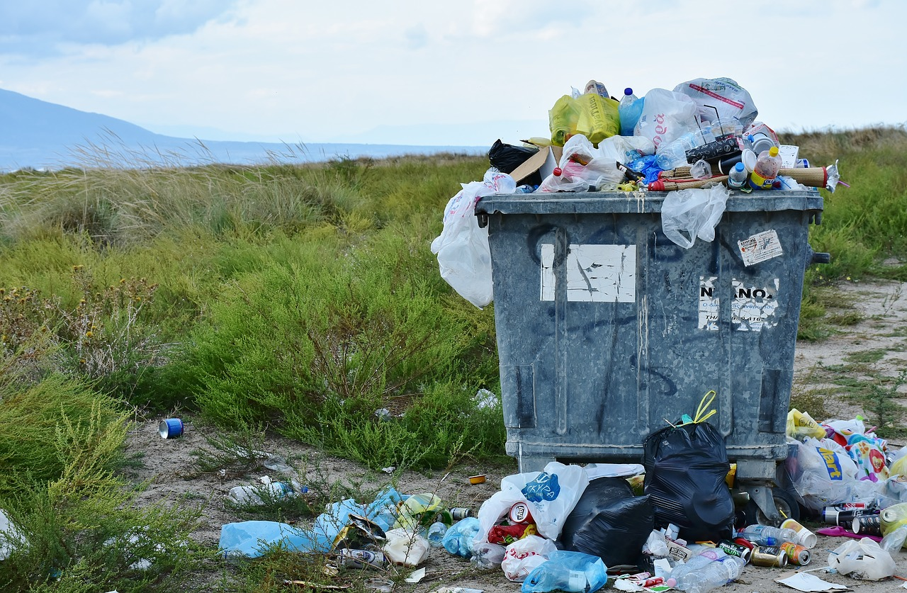 basura no es parte del turismo responsable