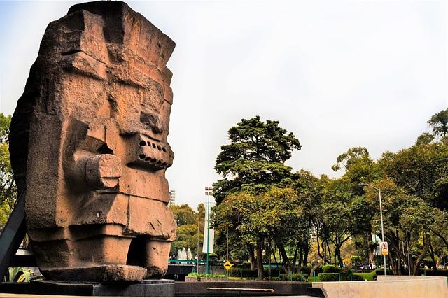 Dios Tláloc en la CDMX - día de muertos en méxico