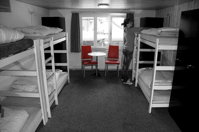 cama de hostal