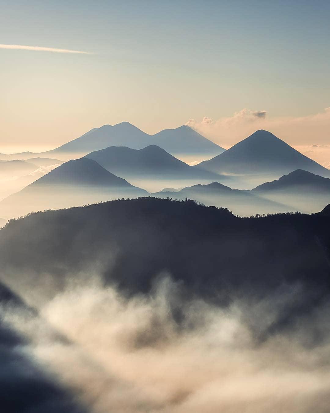 Volcanes de América Central - Santa María