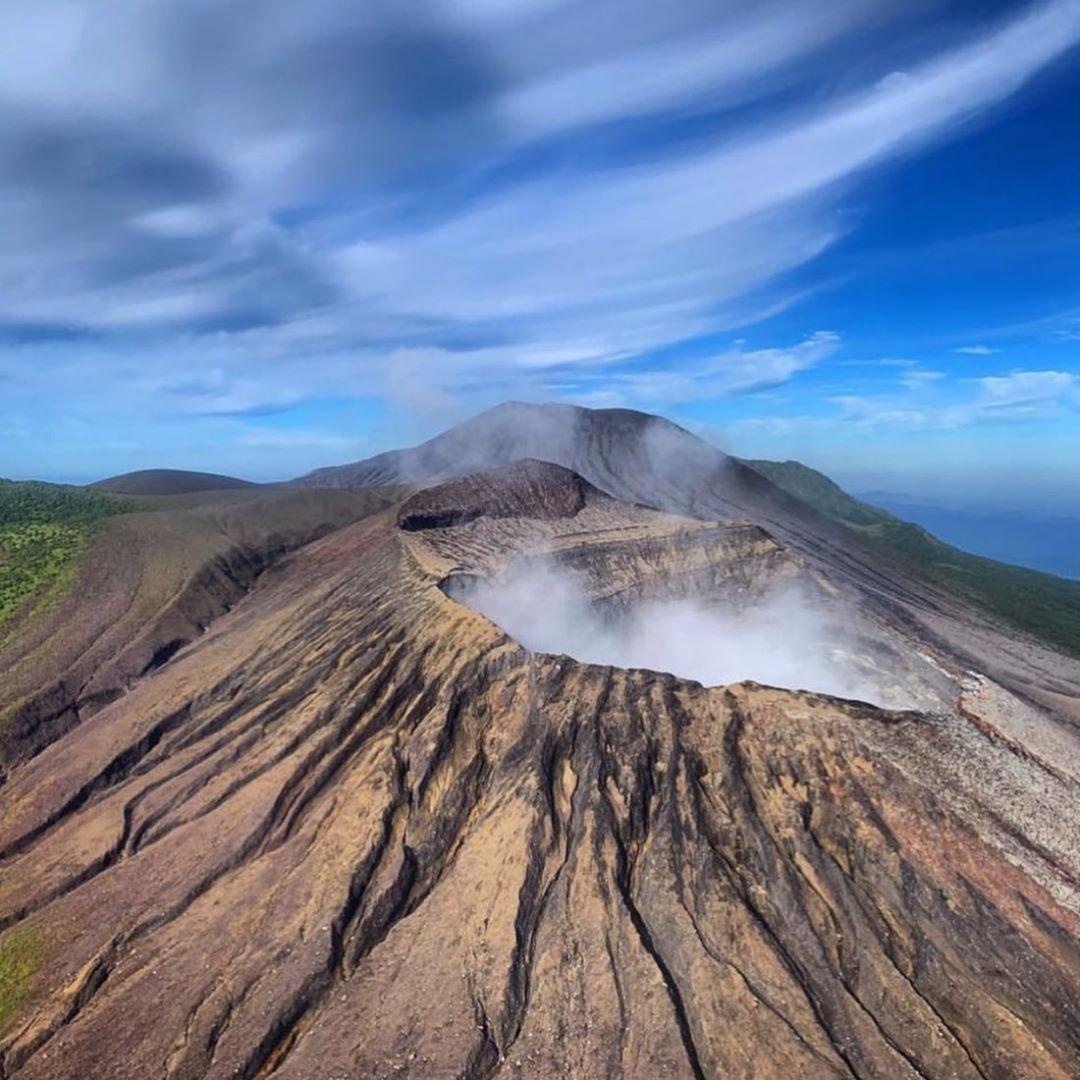 volcanes de américa central