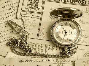 Tiempo para tener inspiración para escribir