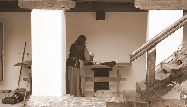 Mujeres que escriben y monjas